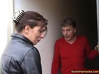 Dutch Mammy Teaches Shy Son Sex