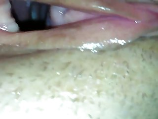 Wife's big fart queef pussy hole