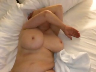 Mom gets come into possession of masturbating