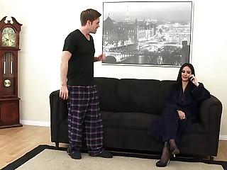 Darned Hot Step-mom Nadia Loves Immature Dick