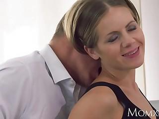 Mother Intimate lovers gross creampie