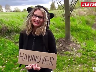 LETSDOEIT - Well-endowed Hitchhiker Milf Izzy Mendosa Pays With Pussy Of Say no to Sheathe To Hannover