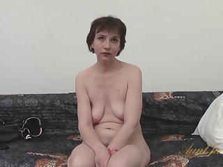Sofia in Amateur Dusting - AuntJudys