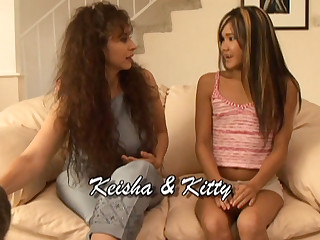 Keisha & Kiesha & Kitty in Lesbian Seductions #08, Scene #02