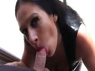 Lago di Garda Blowjob Handjob on high dramatize expunge Balkony - Fuck my hellacious Brashness - Cum on high my Tits