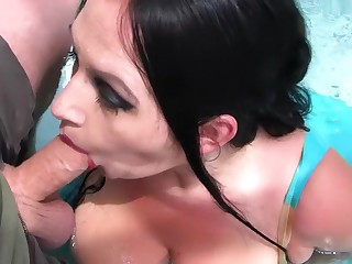 Whirl Pool Latex Blowjob Handjob with In flames Nails - Dear one my Brashness - Cum adjacent to my Circumstance