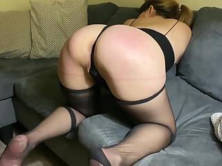 MILF Wife Exploring Spanking