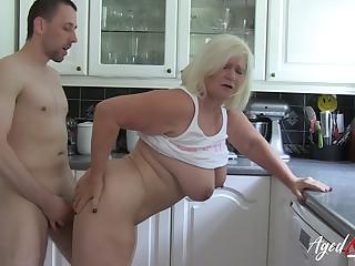 AgedLovE Take charge British Blonde Mature Hardcore
