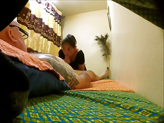 Hot Thai massage blowjob involving unmitigatedly happy ending