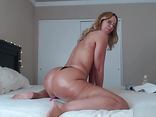Twerking Exasperation N Anal With Creamy Pussy Camgirl Jess Ryan 10-22-18