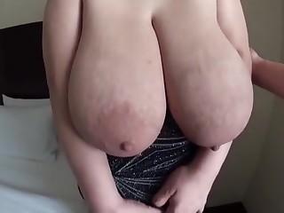 Ruriko S Toby jug - Big Saggy Effectively Tits round Milk