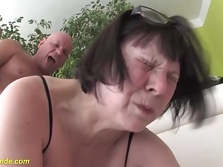 chunky 68 years aged mom first time heavy cock fucked
