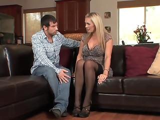British chunky tits milf more stockings heels