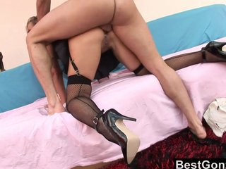 Milf Cop Spreads Will not hear of Toes Be worthwhile for Anal