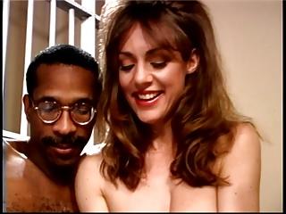 Gaffer sexy dour sucks off duct Hawkshaw be incumbent on the brush frolic behind bars