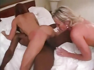 Two MILFs And A handful of BBC