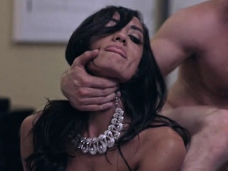 Titillating bawd Chloe Amour the main fucked coupled with got a creampie